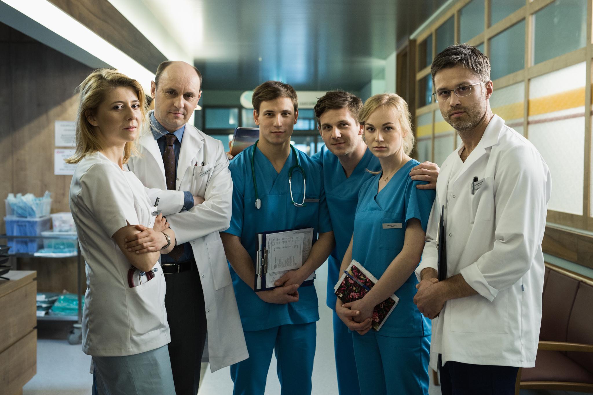 Anna Smołowik, Adam Woronowicz, Józef Pawłowski, Antoni Królikowski, Ola Adamska i Maciej Zakościelny